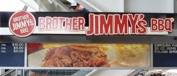 yankee stadium food brother jimmys