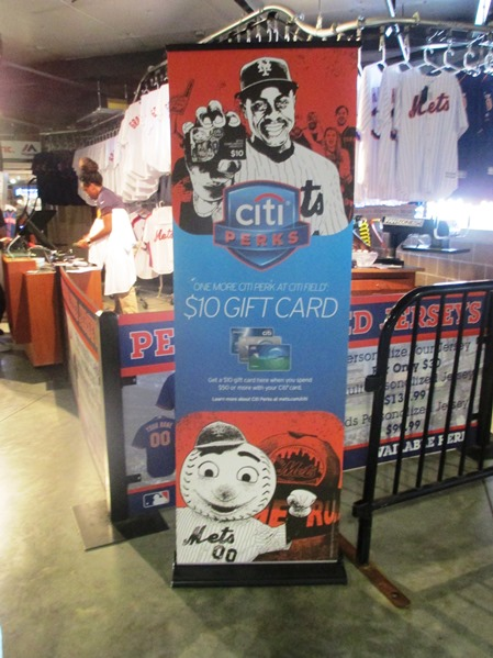 visiting citi field citi card