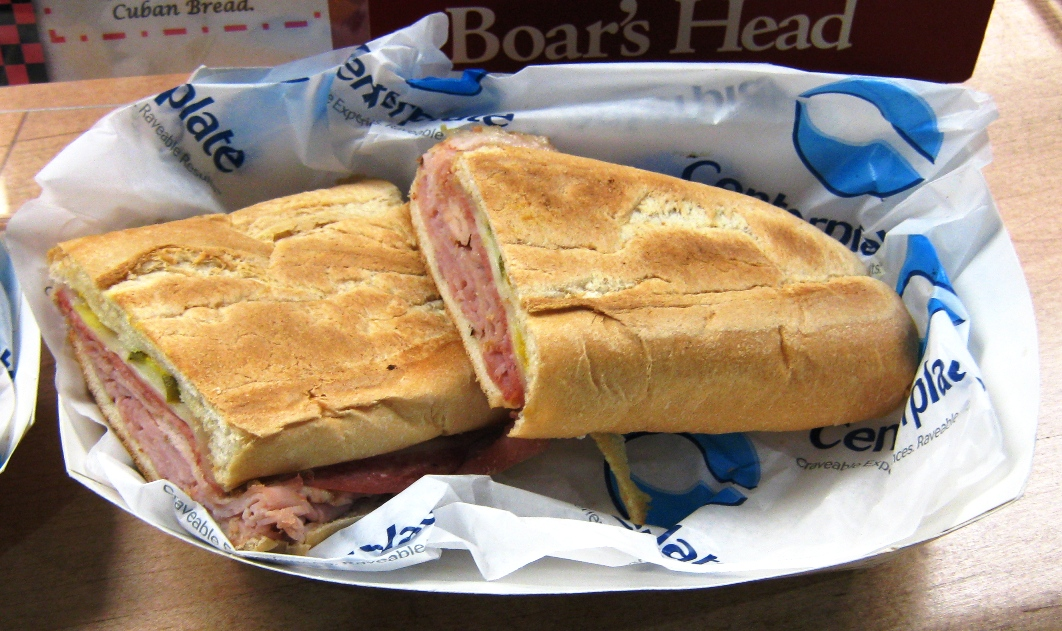 visiting tropicana field cuban sandwich