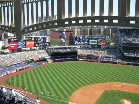 cheap seats at yankee stadium grandstand