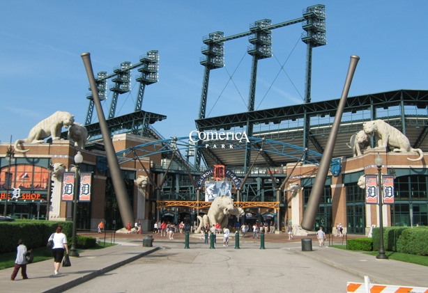 comerica park tips front gate