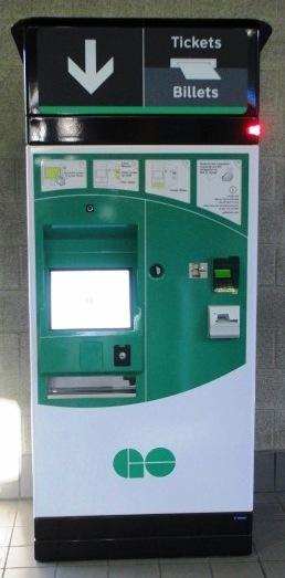 best way to get to rogers centre go ticket machine