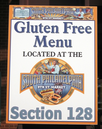 how to eat gluten-free at the ballpark menu