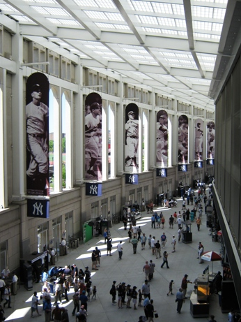 yankee stadium photo ops great hall