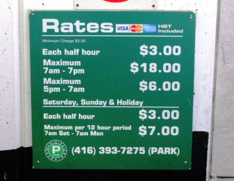 tips for visiting canada green p rates