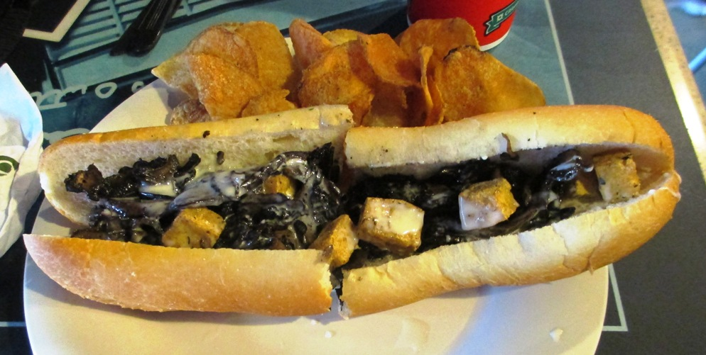 citizens bank park cheesesteaks harrys vegan