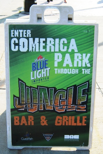 what to eat at comerica park jungle entrance