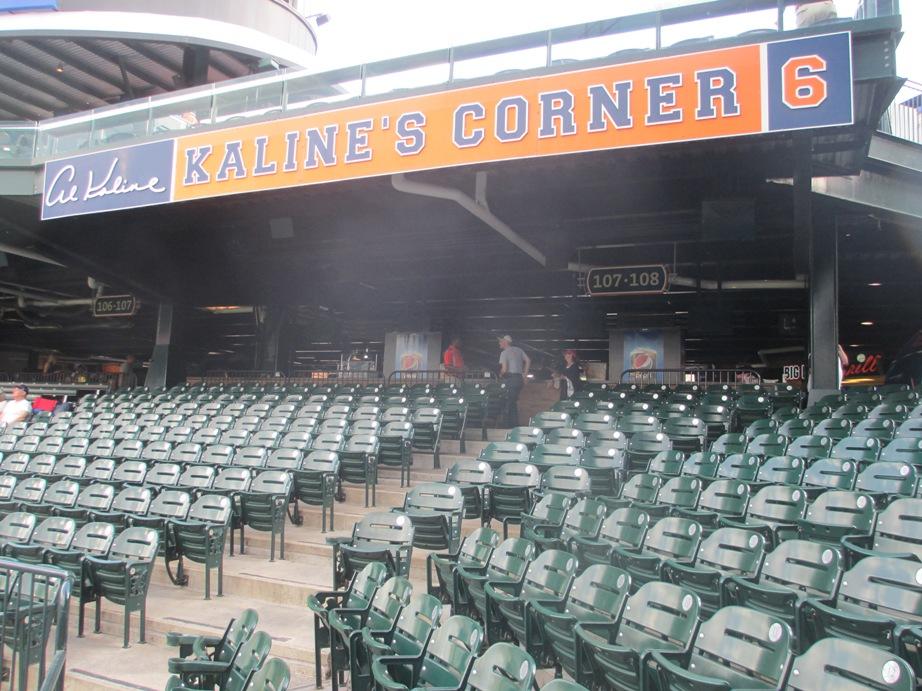 comerica park seating kalines corner