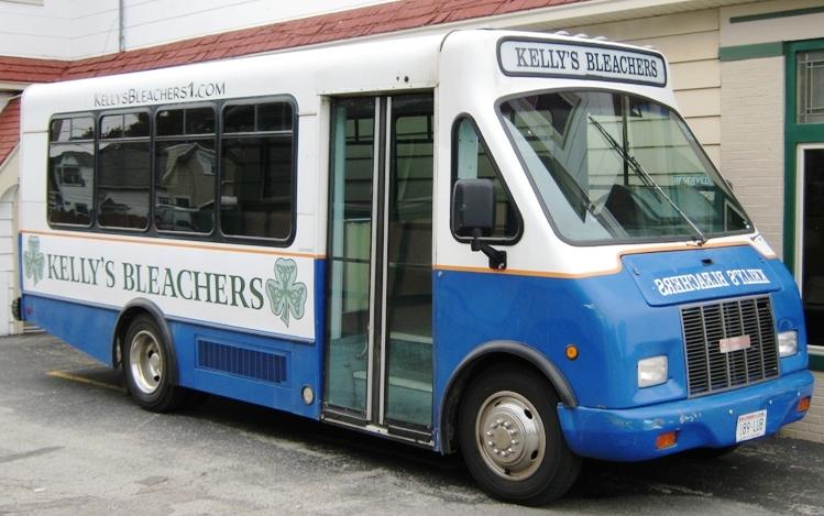 Miller Park Shuttles kellys bleachers