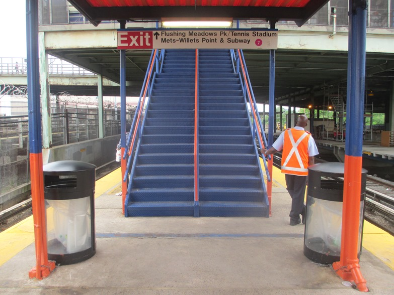 best way to get to citi field lirr steps