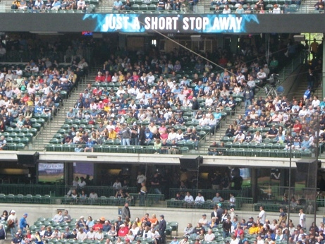 miller park seating tips loge level