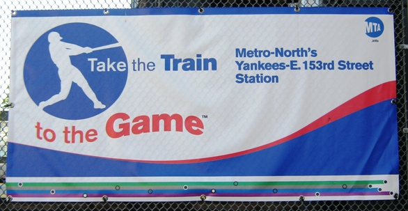 visiting yankee stadium metro north