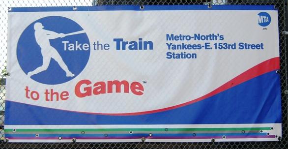 visiting yankee stadium metro north