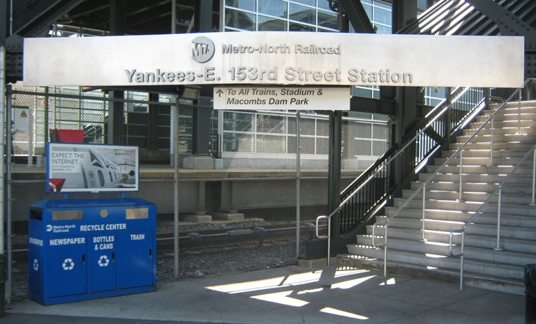 new yankee stadium metro north