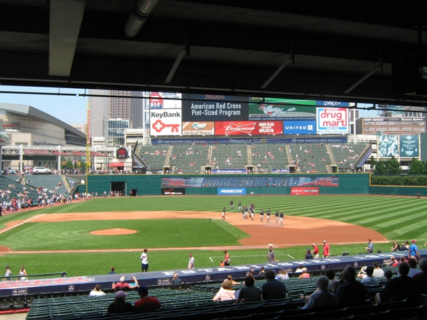 progressive field seating obstructed view box