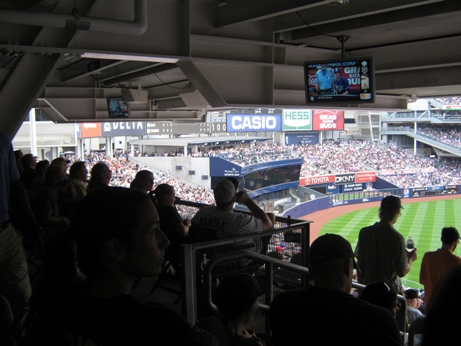 visitin yankee stadium obstructed view