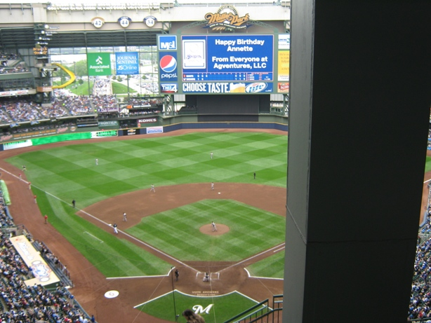 cheap seats at miller park uecker seats