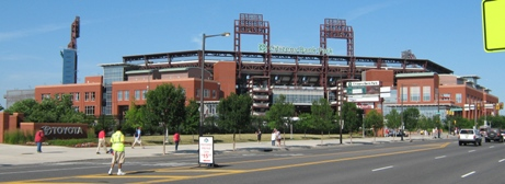 citizens bank park outside