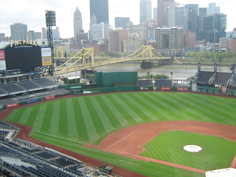 pnc park seating panorama