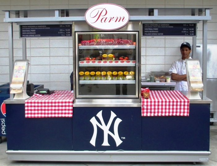 yankee stadium food parm sandwich