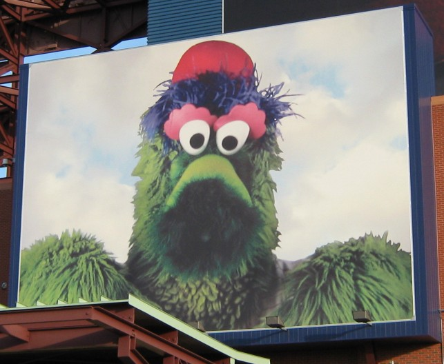 phillie phanatic screen