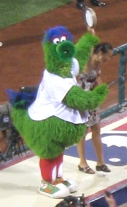 phillie phanatic dugout
