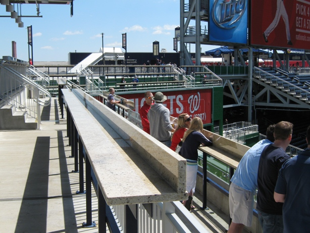nationals park tips standing room