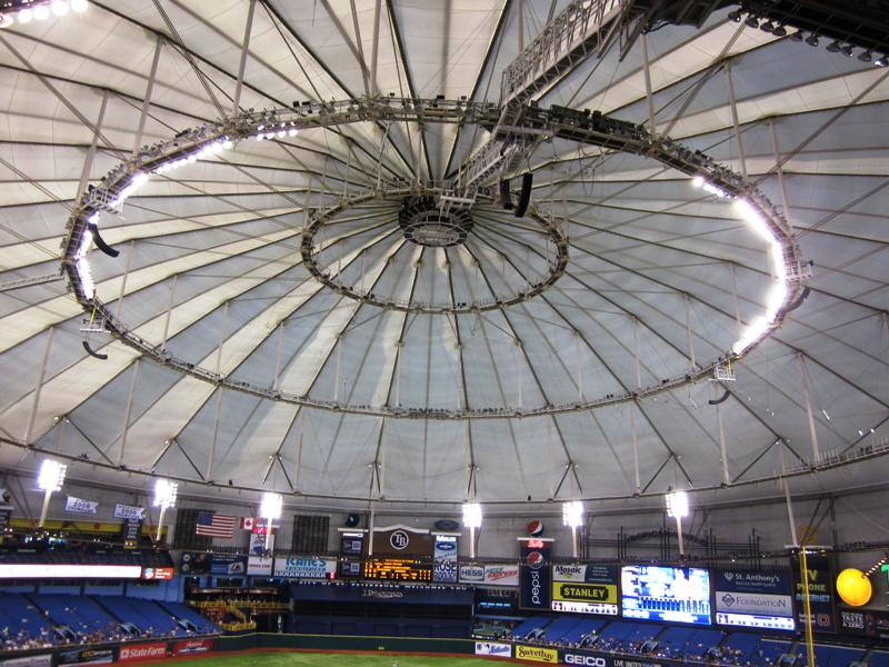 why don't the rays draw roof