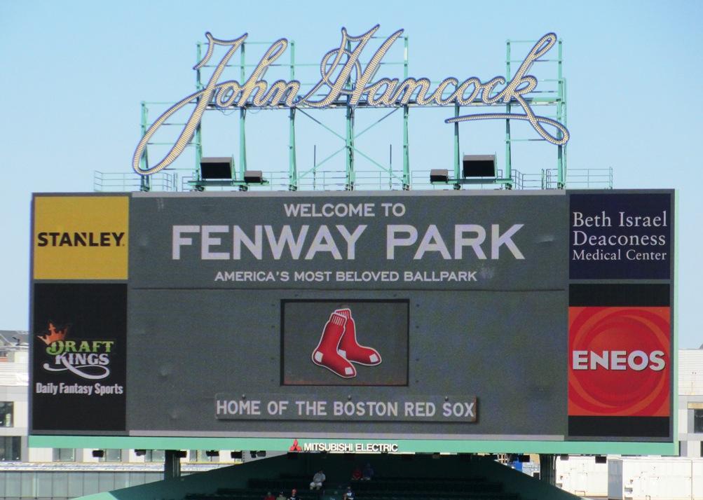 the final season fenway park