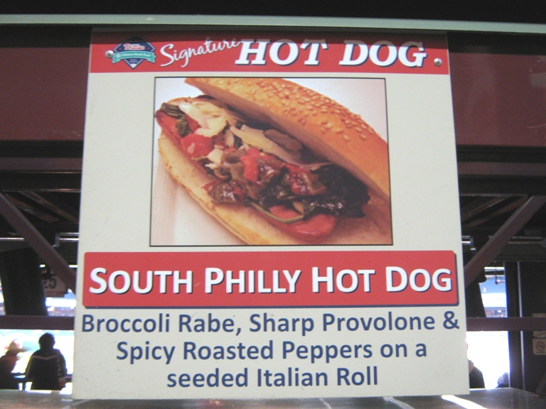 citizens bank park food south philly dog