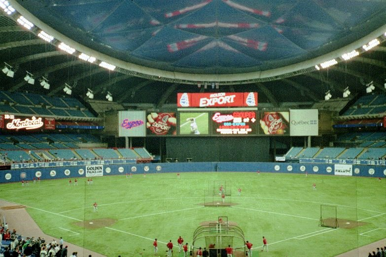 what happened to the montreal expos stade olympique