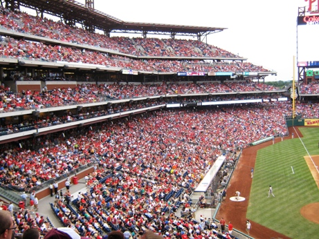 citizens bank park seating third base side