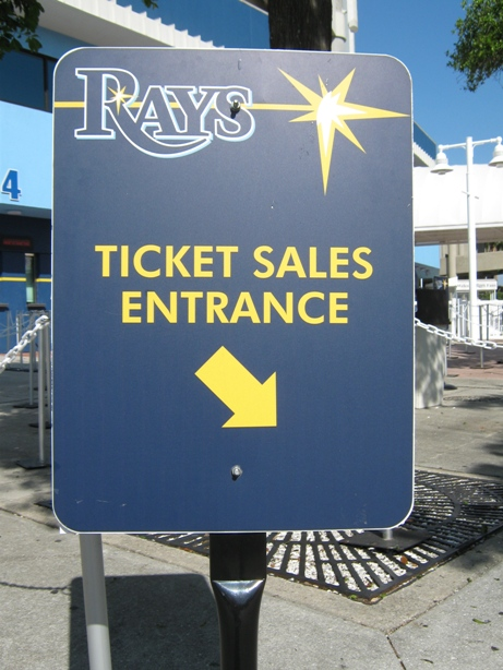 visiting tropicana field tickets