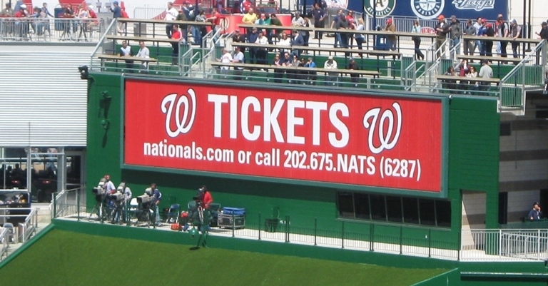 nationals park tips tickets