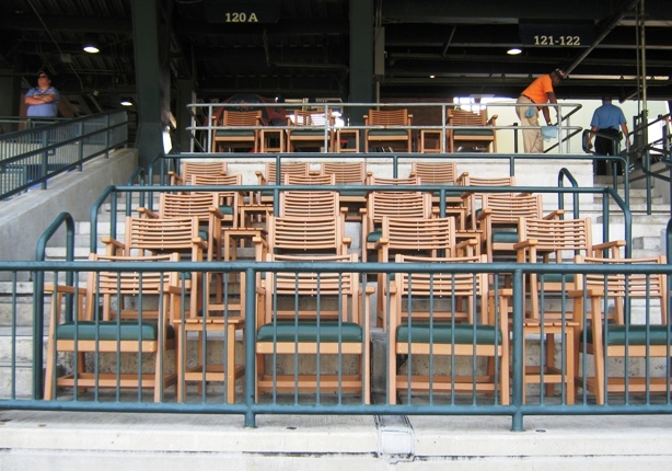 Comerica park seating tiger den seats