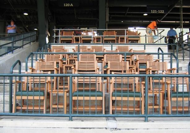 Comerica park seating tiger den seats