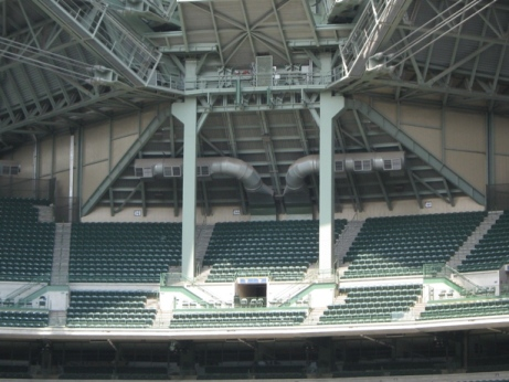 cheap seats at miller park uecker seat poles