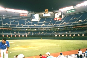 first phillies game vet panorama