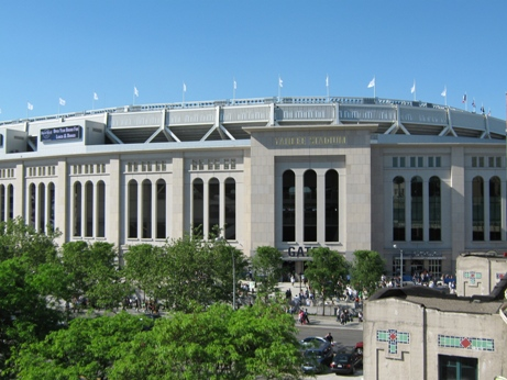 get to yankee stadium view from 4 platform