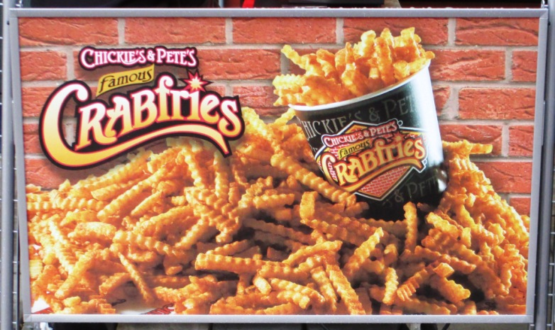 bring food into citizens bank park crab fries