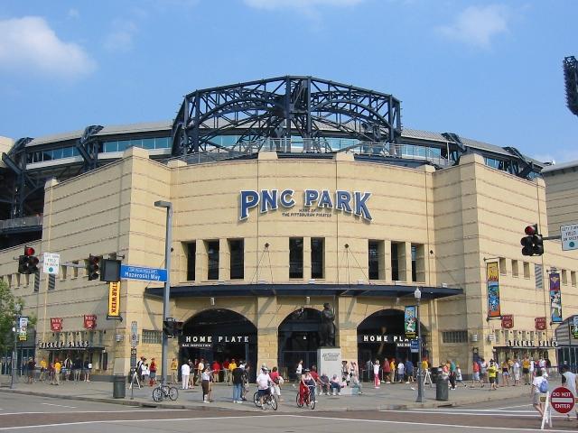 PNC Park Front gate
