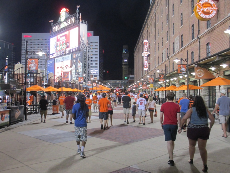 ballpark rankings oriole park at camden yards kurt smith