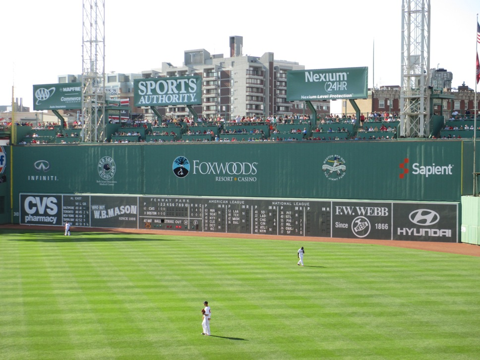 ballpark rankings fenway park kurt smith