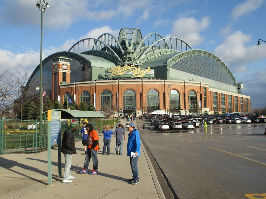 ballpark rankings miller park kurt smith