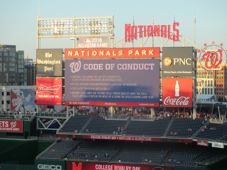 red sox destinations nationals park