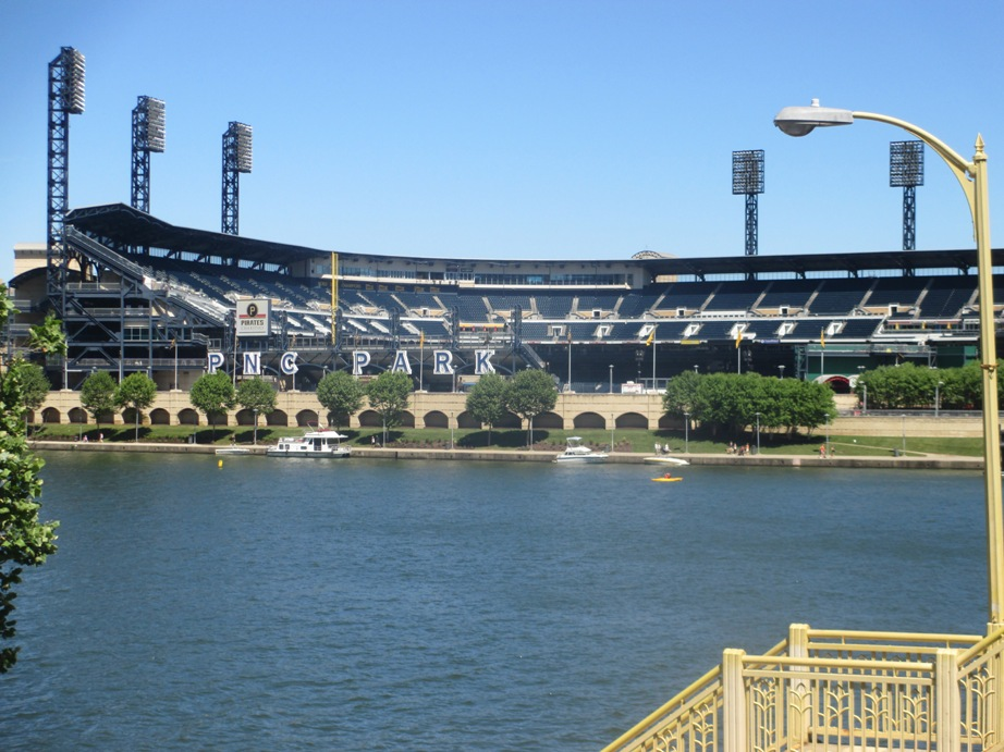 ballpark rankings PNC Park kurt smith