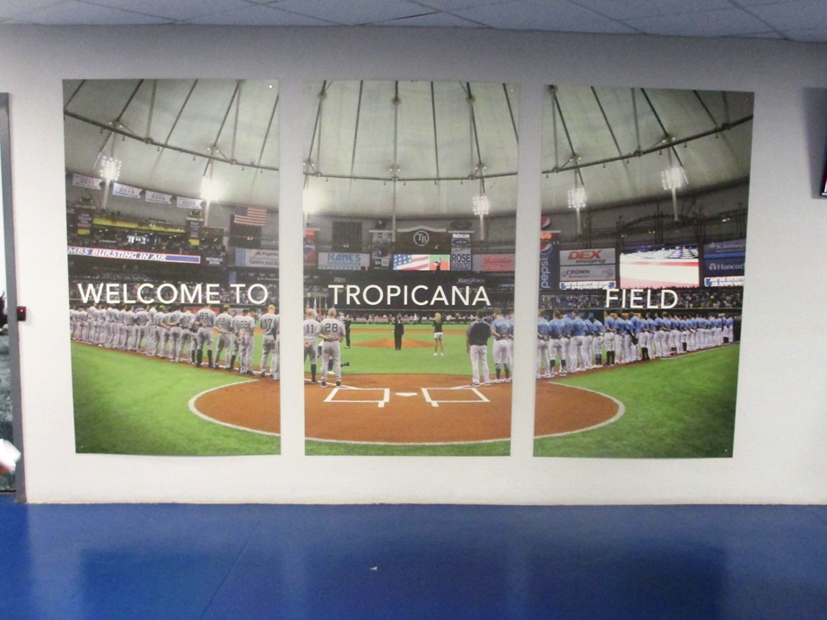 ballpark rankings tropicana field Kurt Smith