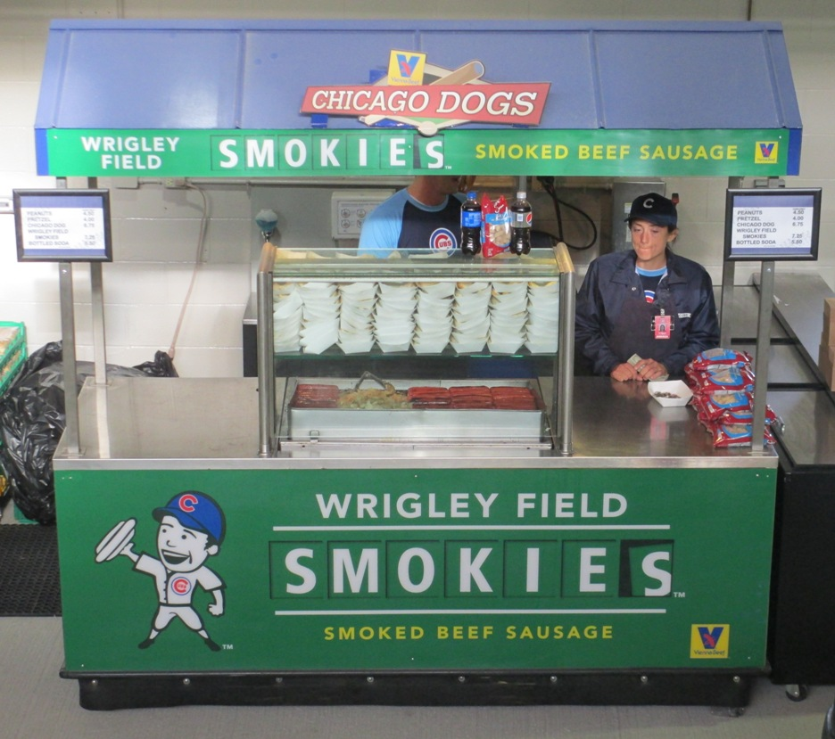 wrigley field smokies