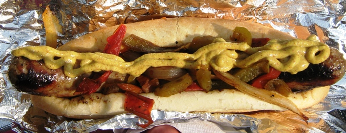 can you bring food into fenway park sausage guy