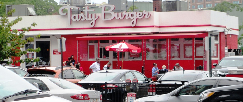 can you bring food into fenway tasty burger
